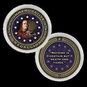 CO-001-021 Franklin Coin
