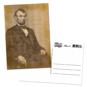SN-001-063 Lincoln w Flag