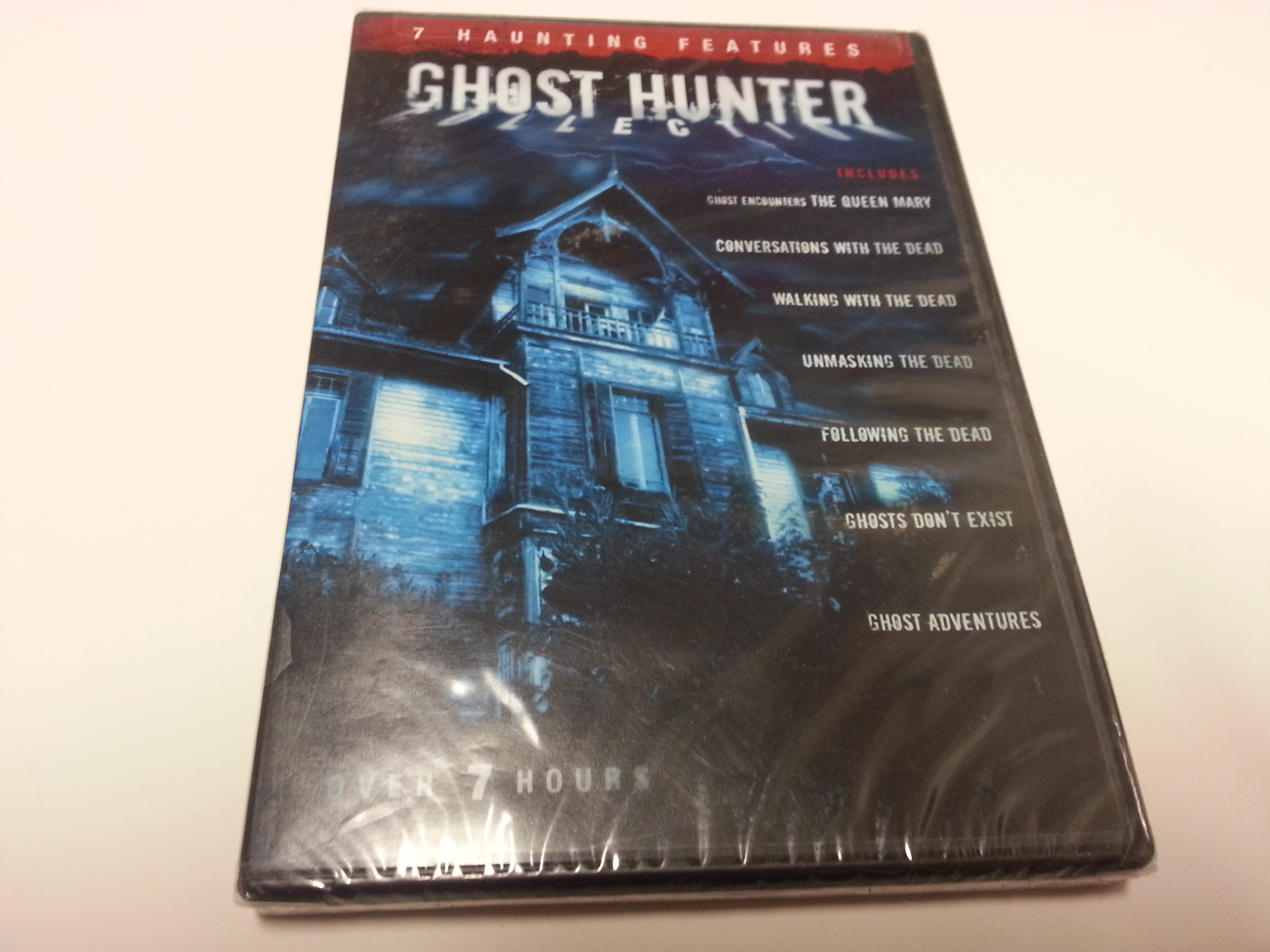 Ghost Hunter Collection 7 Haunting Features Over 7 Hours