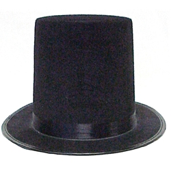 ABRAHAM LINCOLN TOP HAT LARGE 58CM  92462669c1d
