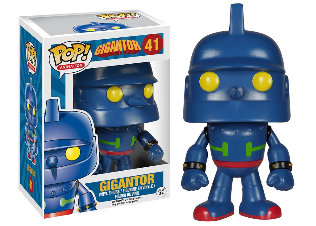 Gigantor Pop Animation Vinyl Figure Funko New 41 Vaulted Gettysburg Souvenirs Gifts