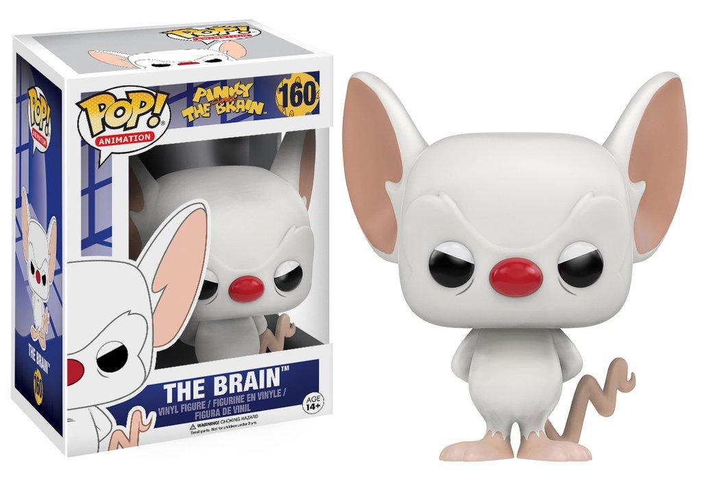 The Brain Pinky And The Brain Pop Animation Vinyl Figure Funko New