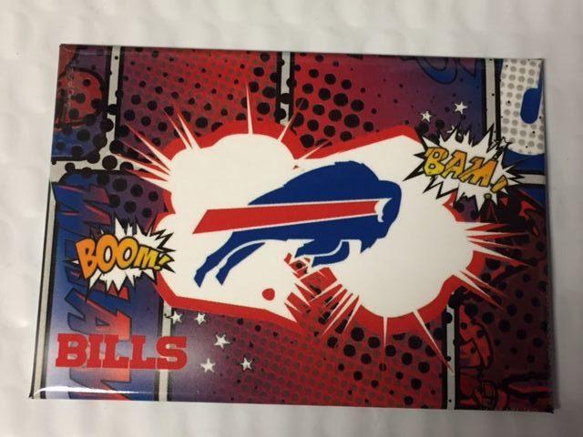 2 1 2 Quot X 3 1 2 Quot Buffalo Bills Nfl Refrigerator Magnet New